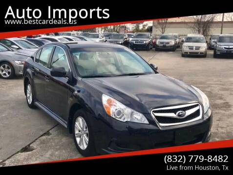 2012 Subaru Legacy for sale at Auto Imports in Houston TX