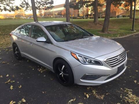 2015 Hyundai Sonata for sale at QUEST MOTORS in Englewood CO