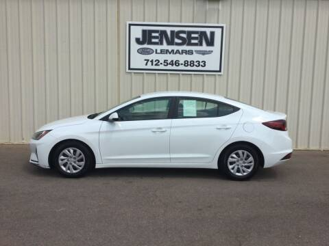 2019 Hyundai Elantra for sale at Jensen's Dealerships in Sioux City IA
