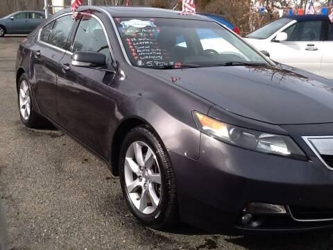 2012 Acura TL for sale at Lance Motors in Monroe Township NJ