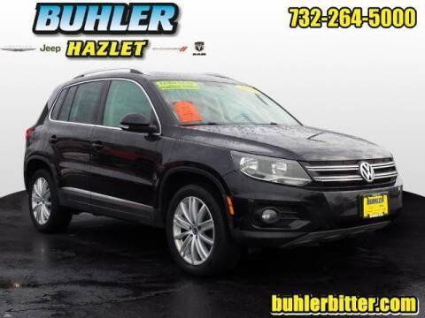 2014 Volkswagen Tiguan for sale at Buhler and Bitter Chrysler Jeep in Hazlet NJ