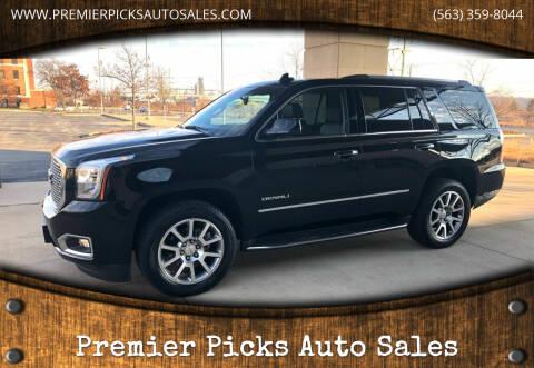 2017 GMC Yukon for sale at Premier Picks Auto Sales in Bettendorf IA