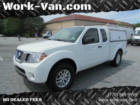 2015 Nissan Frontier for sale at Work-Van.com in Union City GA