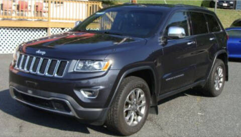 2014 Jeep Grand Cherokee for sale at Trimax Auto Group in Baltimore MD