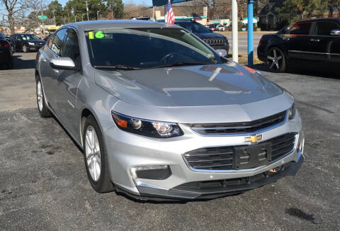 2016 Chevrolet Malibu for sale at Dad's Auto Sales in Newport News VA