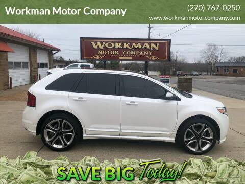 2013 Ford Edge for sale at Workman Motor Company in Murray KY