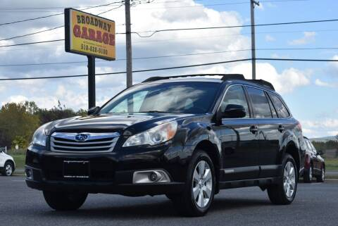 2011 Subaru Outback for sale at Broadway Garage of Columbia County Inc. in Hudson NY