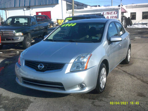 2012 Nissan Sentra for sale at M & M Inc. of York in York PA