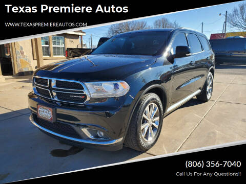 2014 Dodge Durango for sale at Texas Premiere Autos in Amarillo TX