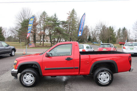 2008 Chevrolet Colorado for sale at GEG Automotive in Gilbertsville PA