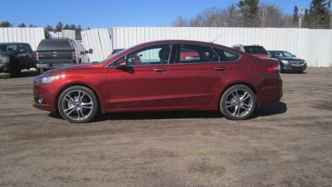 2014 Ford Fusion for sale at Pepp Motors in Marquette MI
