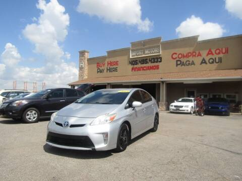 2013 Toyota Prius for sale at Import Motors in Bethany OK