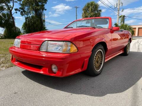 1987 Ford Mustang for sale at American Classics Autotrader LLC in Pompano Beach FL