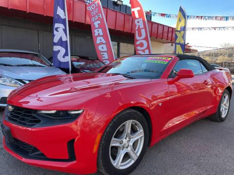 2019 Chevrolet Camaro for sale at Duke City Auto LLC in Gallup NM