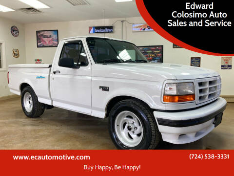 1994 Ford F-150 SVT Lightning for sale at Edward Colosimo Auto Sales and Service in Evans City PA