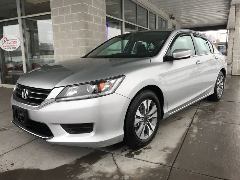 2014 Honda Accord for sale at Automax of Frederick in Frederick MD