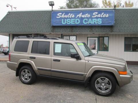 2006 Jeep Commander for sale at SHULTS AUTO SALES INC. in Crystal Lake IL