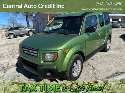 2008 Honda Element for sale at Central Auto Credit Inc in Kansas City KS