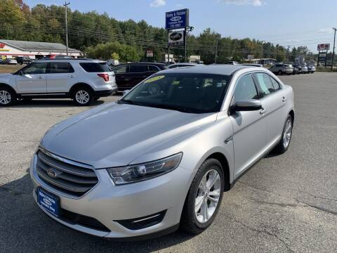 2018 Ford Taurus for sale at Ripley & Fletcher Pre-Owned Sales & Service in Farmington ME