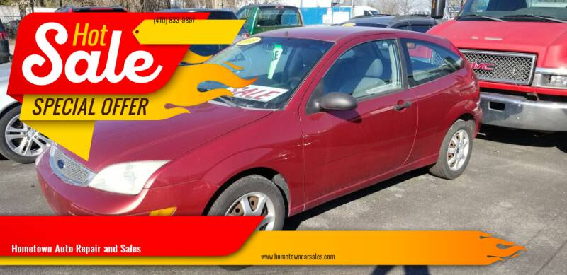2005 Ford Focus for sale at Hometown Auto Repair and Sales in Finksburg MD