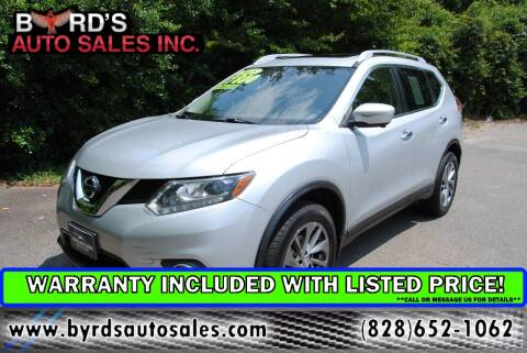 2015 Nissan Rogue for sale at Byrds Auto Sales in Marion NC