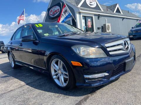 2013 Mercedes-Benz C-Class for sale at Cape Cod Carz in Hyannis MA