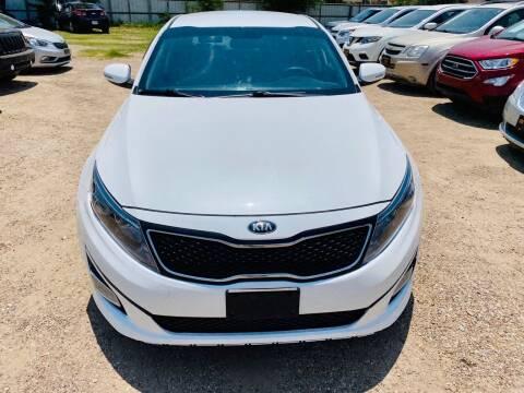 2014 Kia Optima for sale at Good Auto Company LLC in Lubbock TX