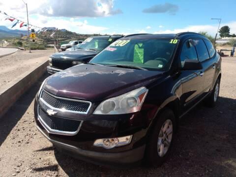 2010 Chevrolet Traverse for sale at Hilltop Motors in Globe AZ