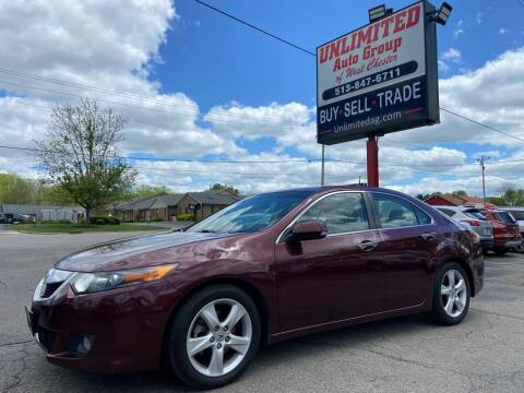 2010 Acura TSX for sale at Unlimited Auto Group in West Chester OH