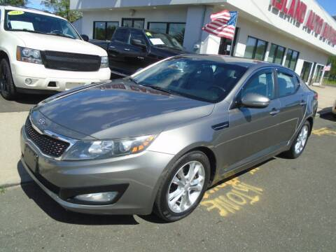 2012 Kia Optima for sale at Island Auto Buyers in West Babylon NY
