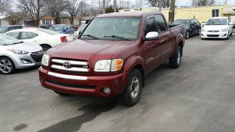 2004 Toyota Tundra for sale at Nonstop Motors in Indianapolis IN