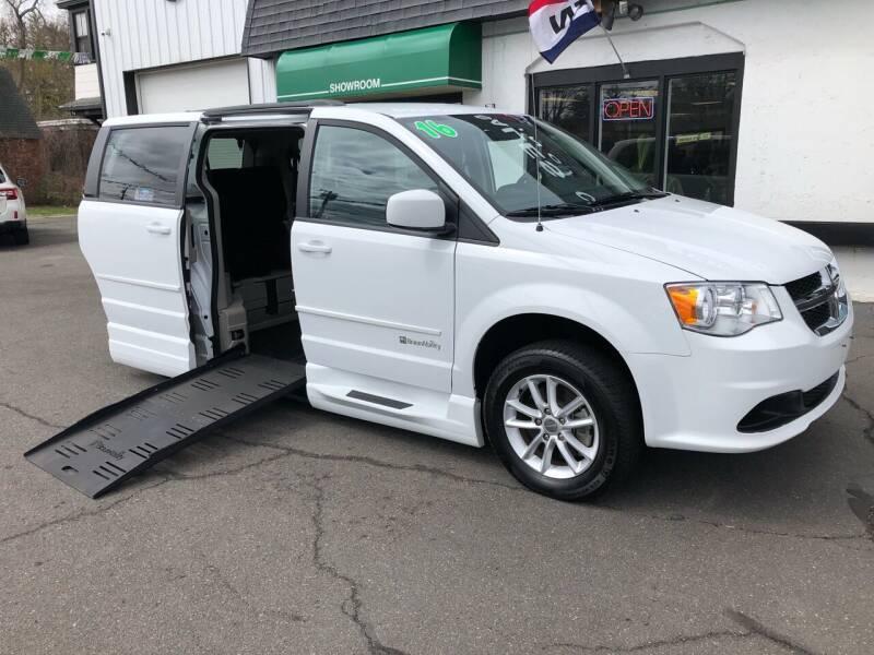 2016 Dodge Grand Caravan Wheelchair van for sale at Auto Sales Center Inc in Holyoke MA