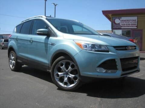 2013 Ford Escape for sale at Cornerstone Auto Sales in Tucson AZ