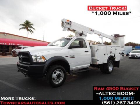 2018 Dodge Ram Chassis 4500 for sale at Town Cars Auto Sales in West Palm Beach FL