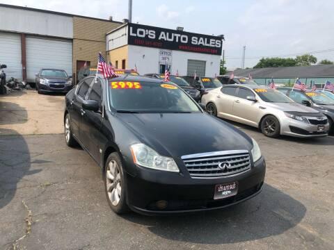 2007 Infiniti M35 for sale at Lo's Auto Sales in Cincinnati OH