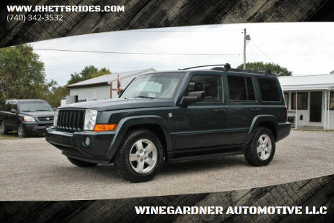 2006 Jeep Commander for sale at WINEGARDNER AUTOMOTIVE LLC in New Lexington OH