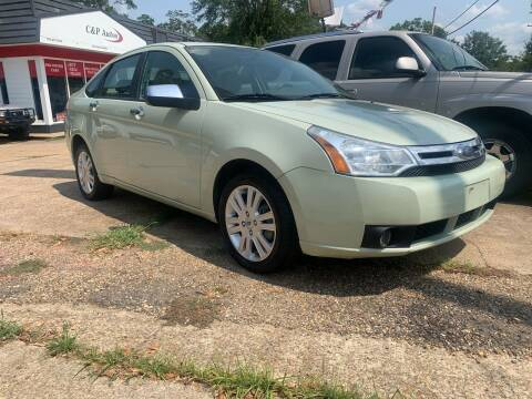 2010 Ford Focus for sale at C & P Autos, Inc. in Ruston LA