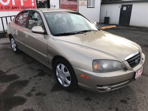 2006 Hyundai Elantra for sale at J and H Auto Sales in Union Gap WA