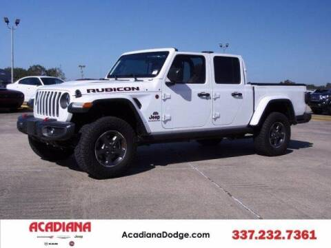 2020 Jeep Gladiator for sale at Acadiana Automotive Group - Acadiana DCJRF Lafayette in Lafayette LA