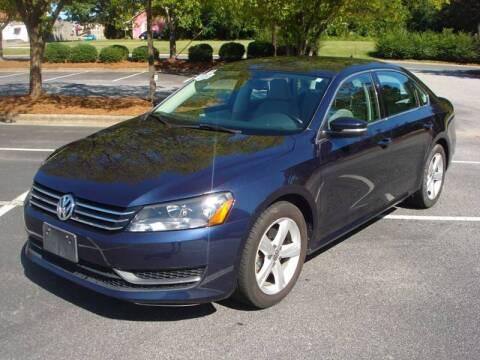 2013 Volkswagen Passat for sale at Uniworld Auto Sales LLC. in Greensboro NC
