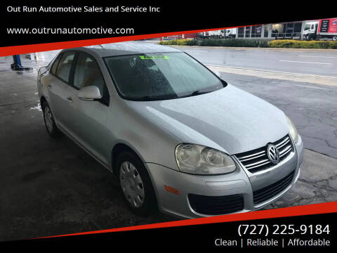 2006 Volkswagen Jetta for sale at Out Run Automotive Sales and Service Inc in Tampa FL