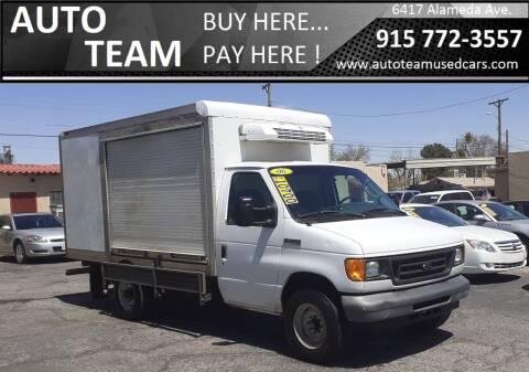 2006 Ford E-350 for sale at AUTO TEAM in El Paso TX