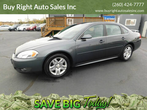 2011 Chevrolet Impala for sale at Buy Right Auto Sales Inc in Fort Wayne IN