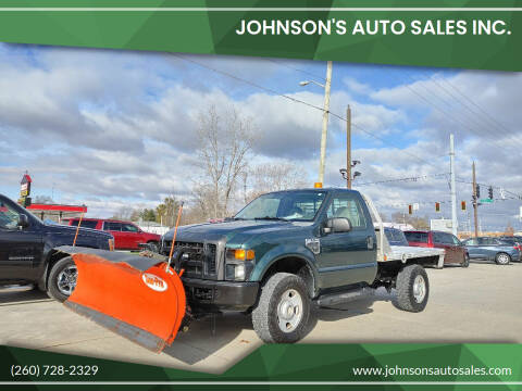 2008 Ford F-350 Super Duty for sale at Johnson's Auto Sales Inc. in Decatur IN
