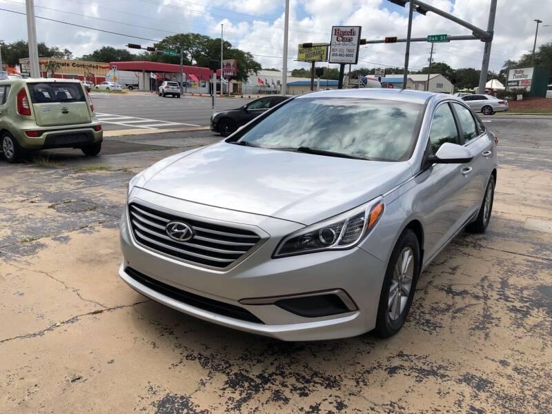2016 Hyundai Sonata for sale at Beach Cars in Fort Walton Beach FL