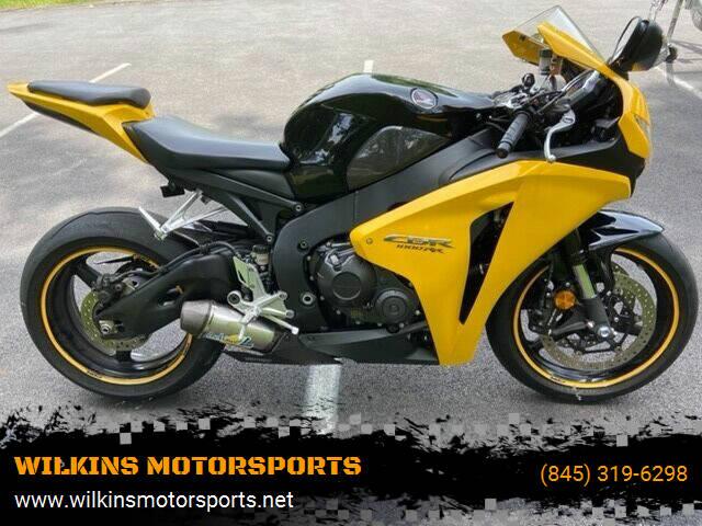 2008 Honda CBR1000RR for sale at WILKINS MOTORSPORTS in Brewster NY