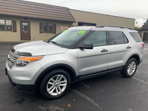2015 Ford Explorer for sale at MAGNUM MOTORS in Reedsville PA