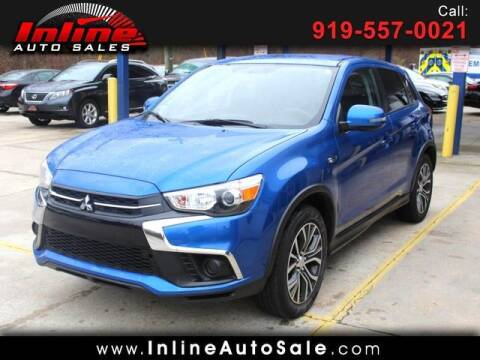 2019 Mitsubishi Outlander Sport for sale at Inline Auto Sales in Fuquay Varina NC