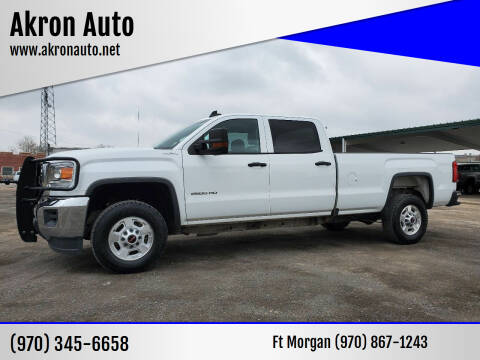 2017 GMC Sierra 2500HD for sale at Akron Auto in Akron CO