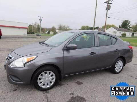 2019 Nissan Versa for sale at DUNCAN SUZUKI in Pulaski VA